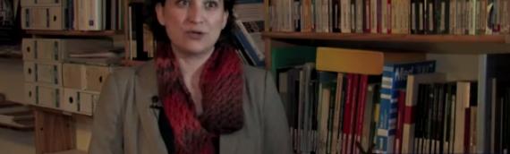 Ada Colau, de la PAH, explica la ILP por una nueva Ley de la Viivenda