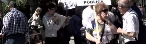 Vídeo Resum: el 23 de Maig de 2014 s'ocupa la Conselleria de Salut perquè el Sistema Sanitari Públic a Catalunya enfila cap al col•lapse.